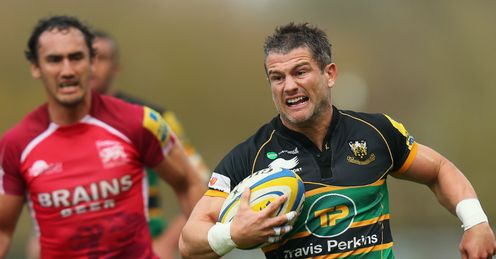 Tom May Northampton Saints v London Welsh Kassam Stadium Aviva Premiership