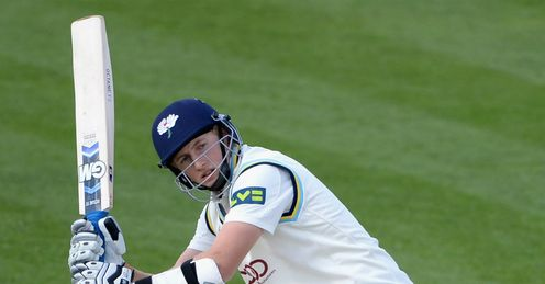 Joe Root Yorkshire v Durham County Championship Riverside