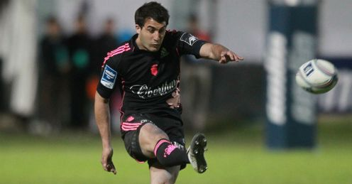 Jerome Porical Stade Francais v Perpignan Amlin Cup semi-final