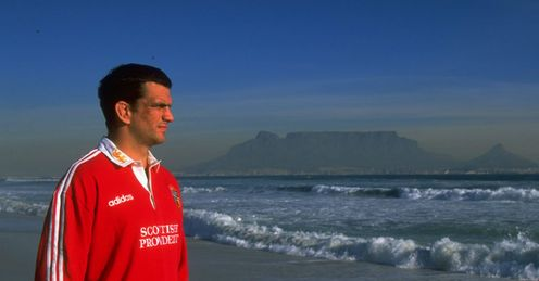 1997 - British and Irish Lions captain Martin Johnson