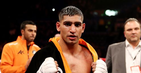 Amir Khan: Will be vulnerable if he moves up to welterweight
