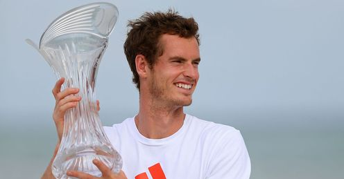 Murray: won a dramatic Miami Masters final against Ferrer