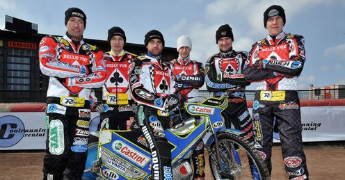 Ales Dryml: Has been outshone by his Belle Vue team-mates, says Kelvin (Pic credit Ed Garvey)