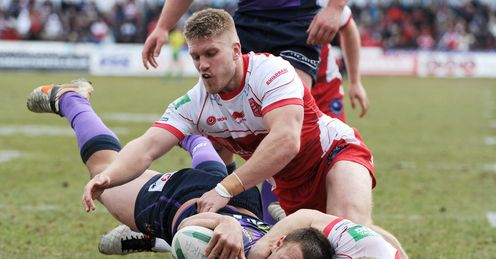 Blake Green Hull KR v Wigan Warriors Super League