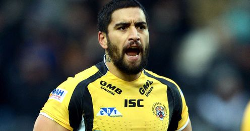 Rangi Chase - pre-season Castleford friendly