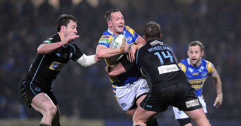 Danny McGuire Leeds Rhinos v London Broncos Super League