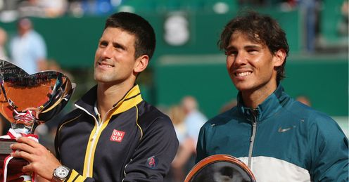 Djokovic: Edged Nadal in a fine Monte Carlo final last month