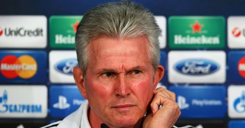 Heynckes: up there with the current managerial greats, says Niall