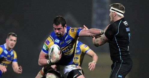 Ian Kirke Leeds Rhinos v London Broncos Super League