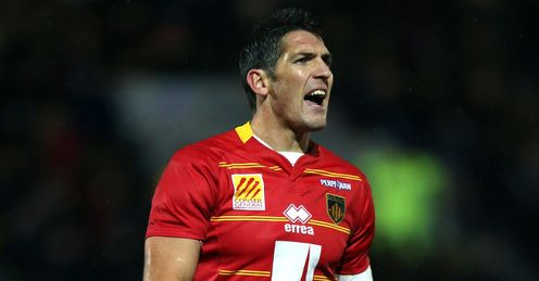 James Hook Perpignan red ACC
