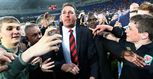 Malky Mackay: centre of attention after guiding Cardiff back to the top flight