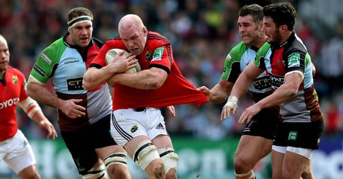 Harlequins v Munster: Paul O Connell