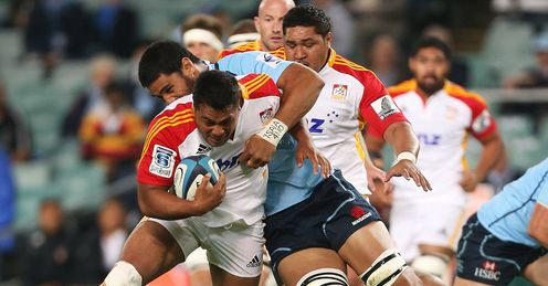 Pauliasi Manu powering on for the Chiefs