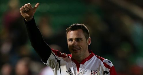 Tommy Bowe Ulster thumbs ups