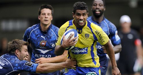 Wesley Fofana: danger man in the centre for Clermont