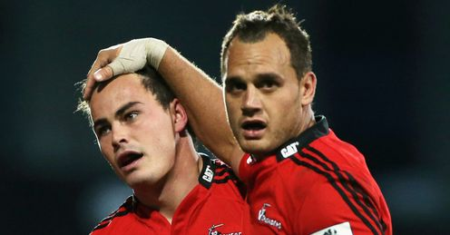 Zac Guildford and Israel Dagg for Crusaders
