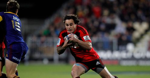 Zac Guildford in the clear for Crusaders