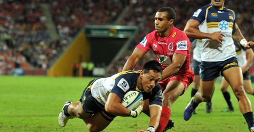 Christian Lealiifano Super Rugby Queensland Reds Brumbies