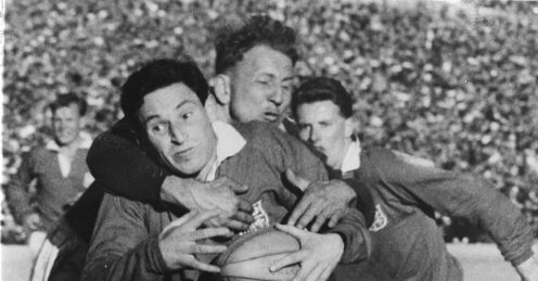 Cliff Morgan British and Irish Lions South Africa Johannesburg Tour 1955