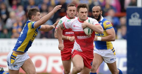 hull kr v leeds george griffin