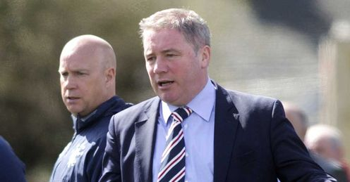 Ally McCoist's Rangers remain in dire straits