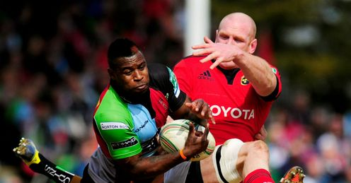 Harlequins Munster Ugo Monye Paul O Connell