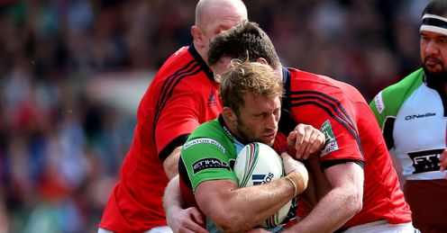 Harlequins Munster Chris Robshaw