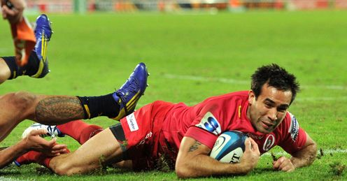 Rod Davies Queensland Reds Super Rugby