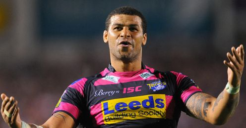 RUGBY LEAGUE Leeds Rhinos Ryan Bailey
