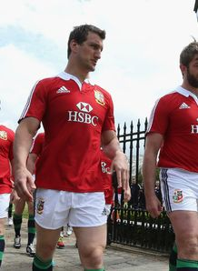 Sam Warburton and Geoff Parling British and Irish Lions 2013