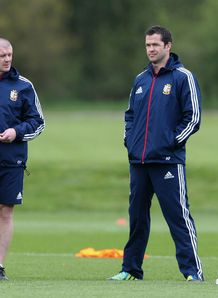 Graham Rowntree Andy Farrell Warren Gatland British and Irish Lions training 2013