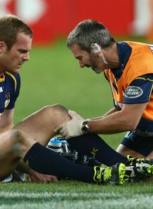 Pat McCabe Brumbies knee injury 2013