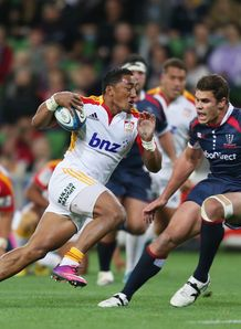Bundee Aki Chiefs v Rebels SR 2013
