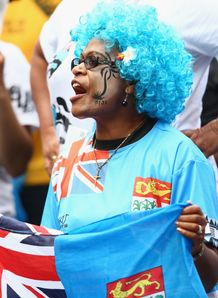 Fiji supporter RWC 2011