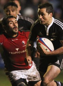 Frae Wilson for Maori All Blacks