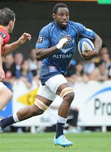 Fulgence Ouedraogo in full flow for Montpellier