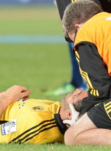 Hurricanes centre Conrad Smith getting treatment