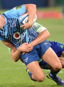 Jan Serfontein Bulls v Highlanders 2013