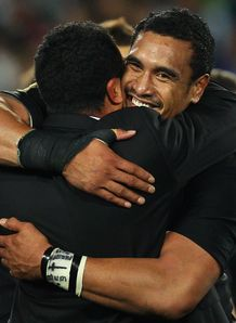 Jerome Kaino smiling