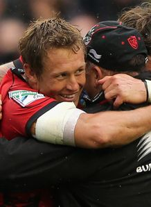 Jonny Wilkinson at full time in Heineken Cup final
