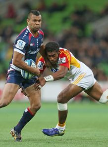 Kurtley Beale Rebels v Chiefs SR 2013