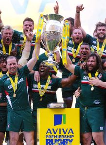 Leicester v Northampton: Tigers crowned champions
