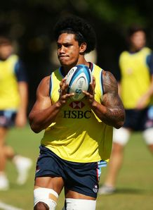 Lopeti Timani Rebels training 2013