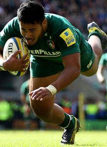 Leicester v Northampton: Manu Tuilagi