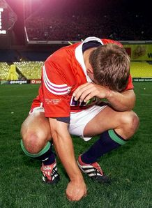 2001 British and Irish Lions - Jonny Wilkinson 3rd Test dejection