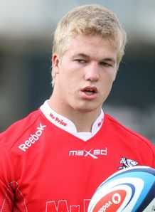 Pieter Steph du toit Sharks training 2013
