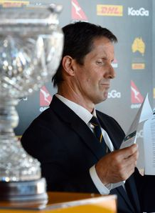 Robbie Deans reading