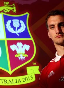 Sam Warburton The British and Irish Lions Captain badge