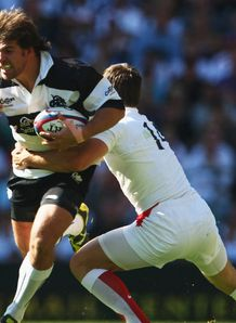 Schalk Brits playing for the Barbarians 2944636 Brits joins the Barbarians