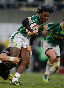 Seabelo Senatla of South Africa Sevens
